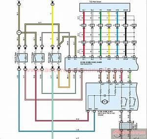 Toyota Landcruiser Prado 2004-2005 Electronic Wiring Diagram