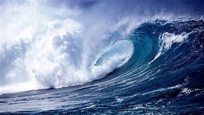 Ocean Waves Wave Wallpapers Desktop Windows Curve