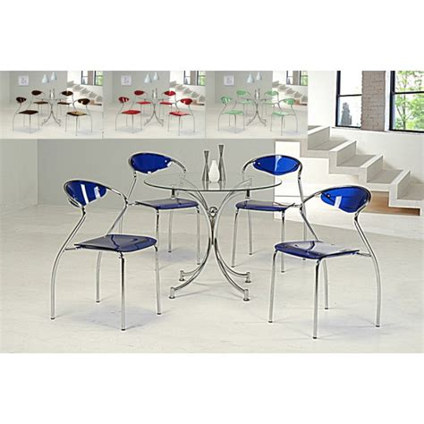 cheap heartlands jersey glass dining table set 4 chairs