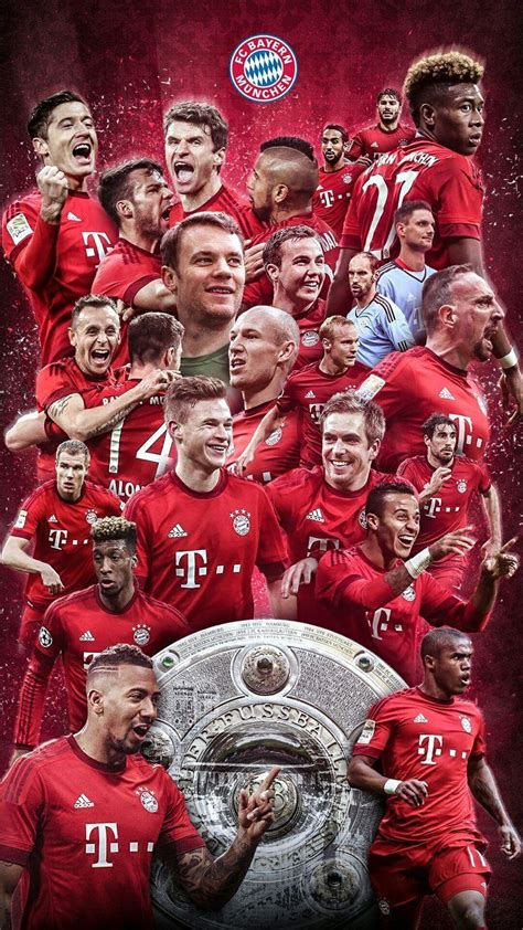 FC Bayern Munich 2018 Wallpapers - Wallpaper Cave