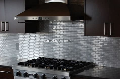 hotte de cuisine stainless 9 best gallerie credence de cuisine inox et fond de hotte