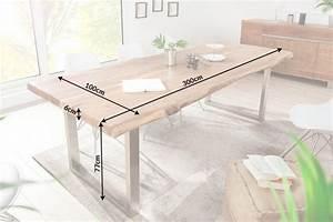 Tisch Mit Kufengestell : massiver baumstamm tisch mammut 300cm akazie massivholz industrial look kufengestell mit 6cm ~ Sanjose-hotels-ca.com Haus und Dekorationen
