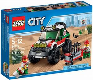 Vidéos De Lego : lego city 60115 pas cher le 4x4 tout terrain ~ Medecine-chirurgie-esthetiques.com Avis de Voitures