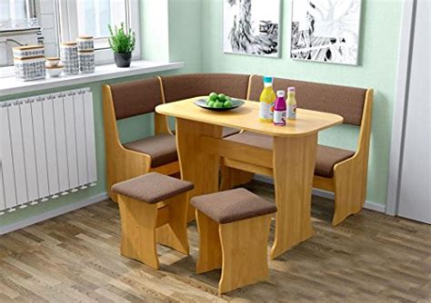 L Table With Storage by Fiji Kitchen Nook Dining Table Set L Shaped Storage Bench