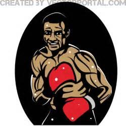 Boxer Clip Art Vector