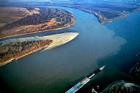 Tow Boat Sinks On Ohio River by Across The Wide Missouri On The Lewis And Clark Trail Rv