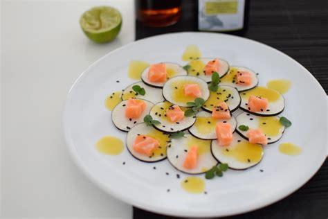 radis noir cuisine le carpaccio radis noir et dos de saumon lovalinda