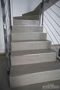 les 25 meilleures idees de la categorie escalier beton sur With superb peindre un escalier bois 5 recouvrir un escalier en carrelage