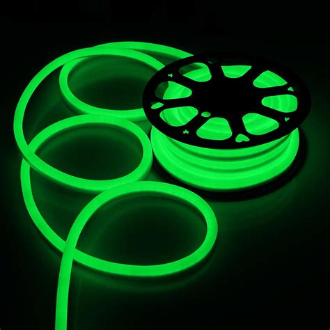 50ft led flex neon rope light in outdoor