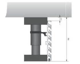 sockelleiste küche küchen sockelleiste aus aluminium mit inox oberfläche