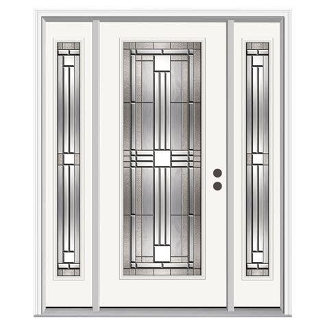 jeld wen entry doors jeld wen 62 in x 80 in lite cordova primed steel