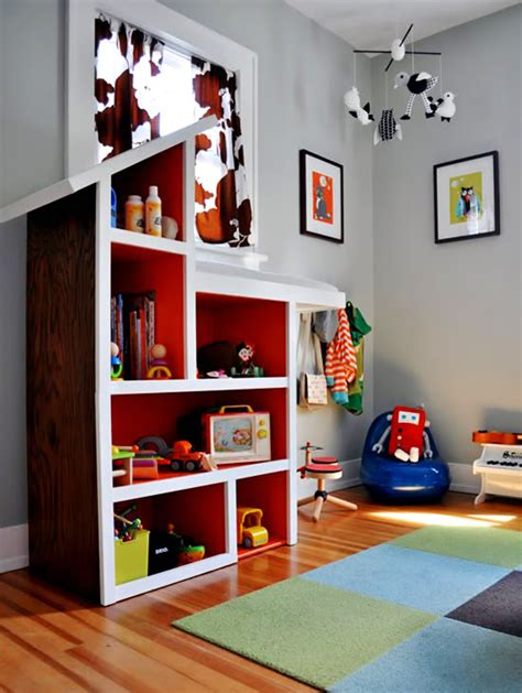 cool kids toy shelf ideas kidsomania