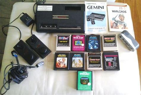 console gemini vintage coleco gemini system console atari
