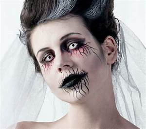 Halloween Make Up Puppe : geisterbraut halloween make up ~ Frokenaadalensverden.com Haus und Dekorationen