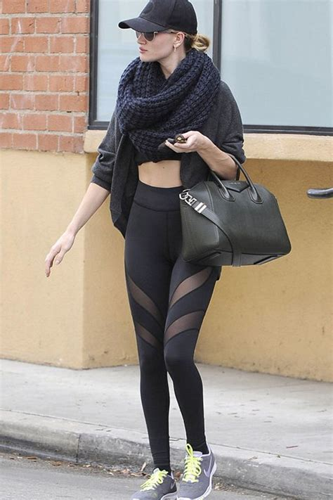 sexiest celebrity workout outfits  wow style