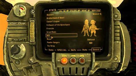 fallout nv console commands fallout new vegas reputation