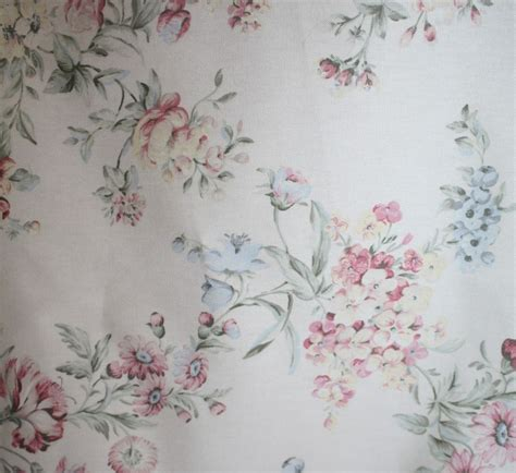 shabby chic fabrics ebay covington floral shabby chic style cottage fabric 4 8 yards ebay