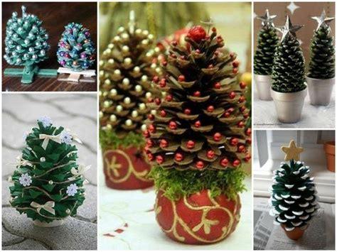 basteln mit tannenzapfen weihnachten basteln mit tannenzapfen 50 diy ideen weihnachtsideen