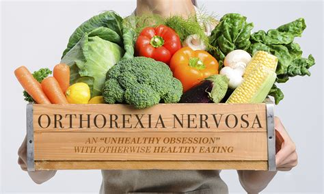 wat is orthorexia nervosa