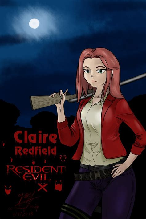 Claire Redfield ( Resident Evil ) By Lehoanghiep On Deviantart