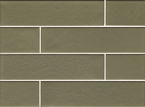 olive 2x8 matte glass subway tile box contemporary mosaic tile by design for less