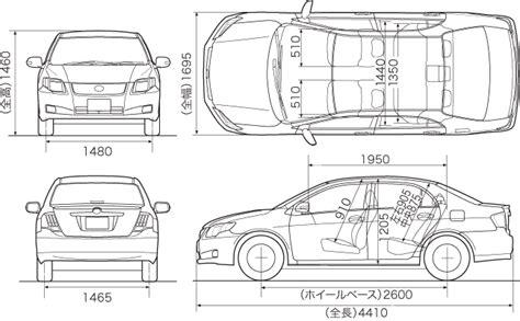 Toyota Corolla Dimensions by Toyota Corolla Interior Dimensions Www Indiepedia Org