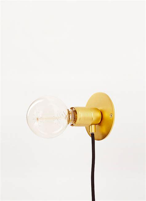 frama e27 wall light brass small volta vienna