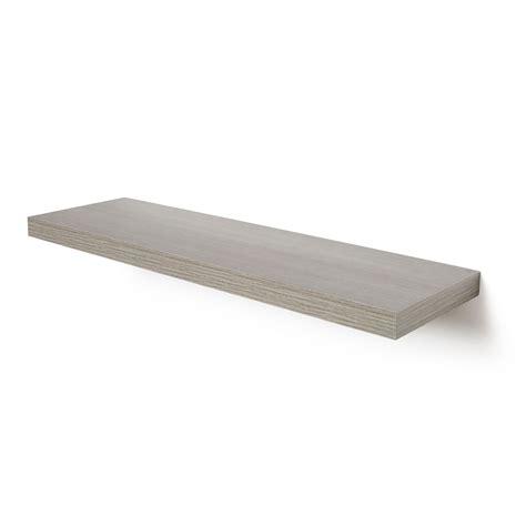 Bathroom Shelves B Q by Grey Oak Effect Floating Shelf L 802mm D 237mm