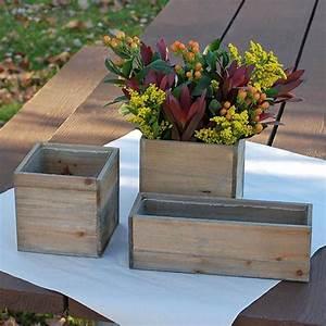 Rectangular, Wooden, Planter, Box, U2013, Stylwed