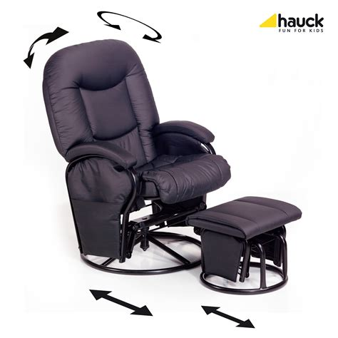 Hauck Nursing And Relaxing Chair Metal Glider Recline 2018