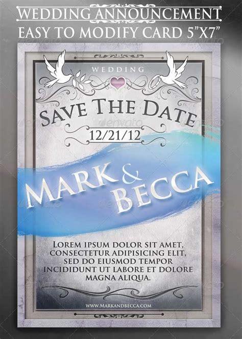 wedding invitation psd templates designmaz