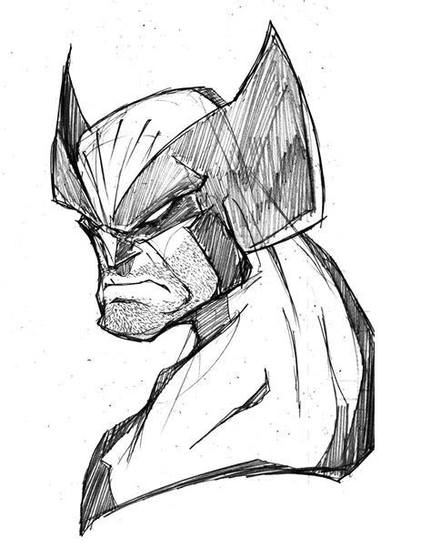 Morning Sketch  Wolverine By Robduenas On Deviantart