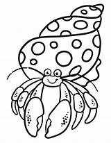 Crab Hermit Coloring Pages Eric Carle Crabs Printable Enjoy Drawing Crafts Cartoon Preschool Activity Ocean Fish Craft Therapy Enjoycoloring Template sketch template