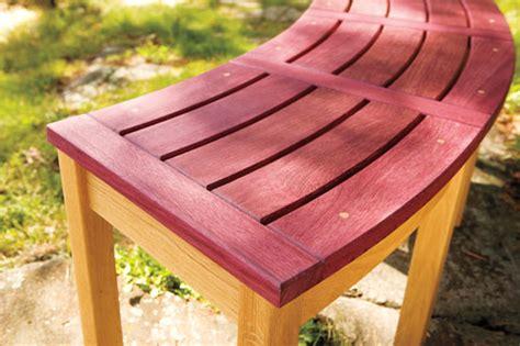 campfire bench woodworking plans woodshop plans