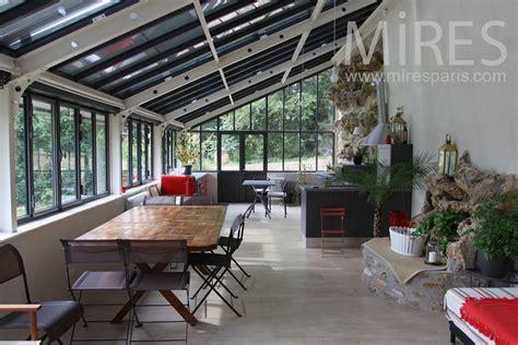 cuisine sous veranda grande cuisine salle à manger sous la véranda c0775