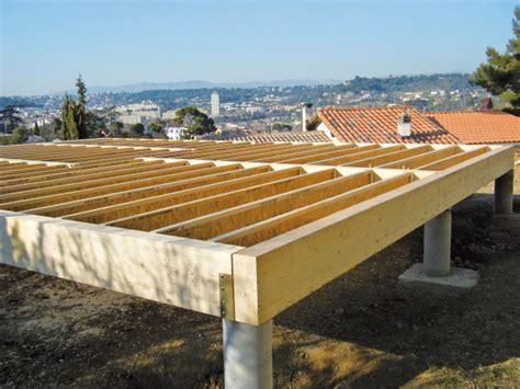 fondations technopieux pour maison bois eco logis concept r 233 gion paca