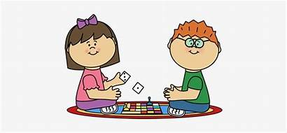 Clip Clipart Board Play Playing Transparent Youth