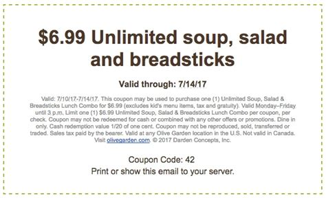 current olive garden specials olive garden coupons printable coupons in