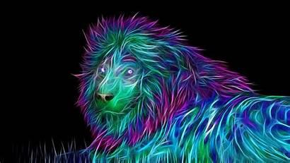 Abstract Lion Pixelstalk