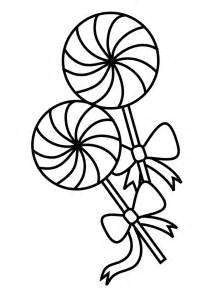 Free Printable Lollipop Coloring Page