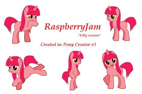 Raspberry Jam In Pony Creator V3 By Michikohatake On