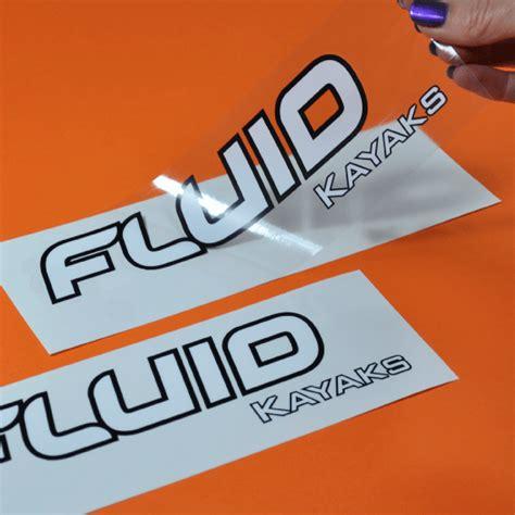 Waterproof Outdoor Stickers I Printed Waterproof Stickers