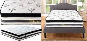 hybrid mattress reviews 15quot innerspring memory foam With best pillow to use with memory foam mattress
