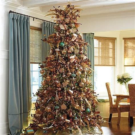 golden splendor decor kit with 9 western hemlock tree christmas decorations traditional