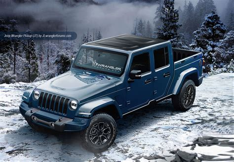 Update Jt Wrangler Pickup Truck To Debut In 2018