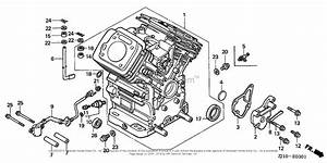 Honda Engines Gx620k1 Qaf Engine  Jpn  Vin  Gcad