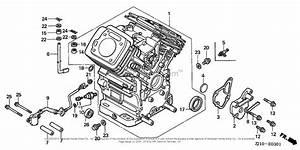 Honda Engines Gx620k1 Qaf Engine  Jpn  Vin  Gcad