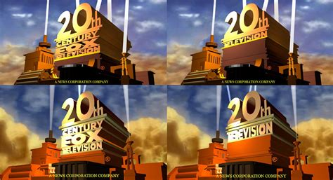 Twentieth Century Fox Tv Logos (old) By Superbaster2015 On