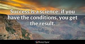 Success is a sc... Scientific Work Quotes