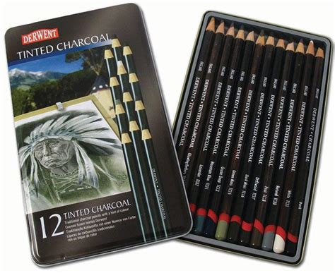 derwent tinted charcoal cavalier art supplies